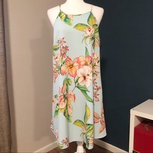 New with tags NY&C floral trapeze dress